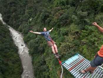 Bungee Jumping au Népal