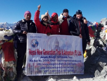 Gokyo Chola pass and Everest Base Camp Trek