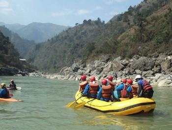 Rafting Sur la Trisuli