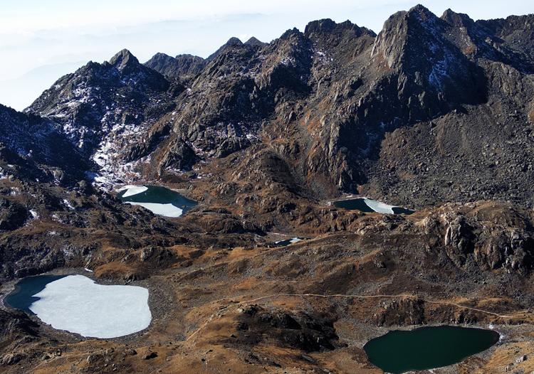 5145m (Surya peak) 3