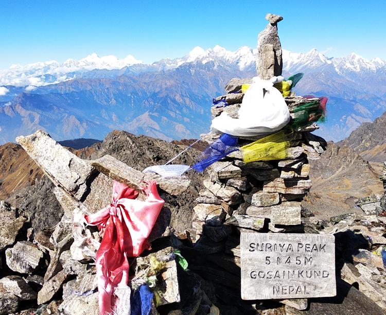 5145m (Surya peak)