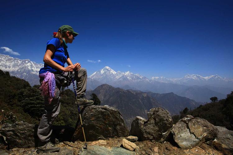 Guerrilla trek Nepal 2