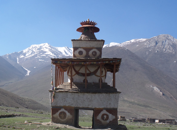Lower Dolpo remote Himalaya mountains 3