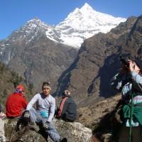 Gaurishankar, Rolwaling Valley Trek 4