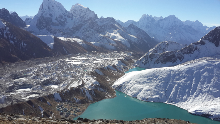 view from Gokyo 2