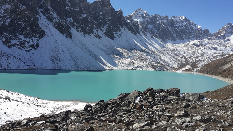 view from Gokyo 3