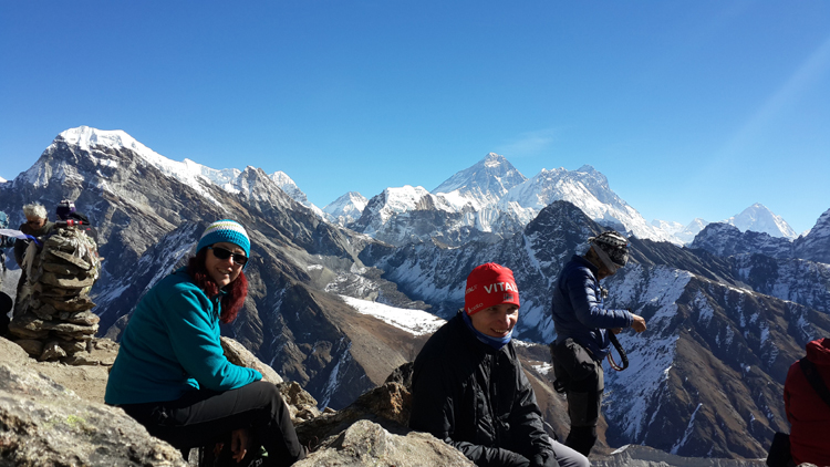 view from Gokyo